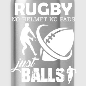 Rugby No Helmet No Pads - Water Bottle