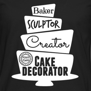 Cake Decorator Shirt - Men's Premium Long Sleeve T-Shirt