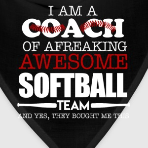 Softball Coach Shirts - Bandana