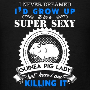 Sexy Guinea Pig Lady - Men's T-Shirt