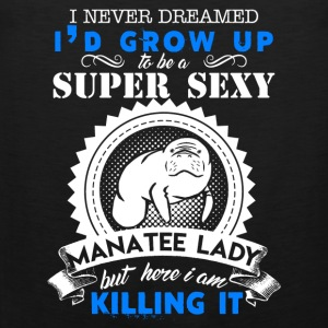 Super Sexy Manatee Lady - Men's Premium Tank