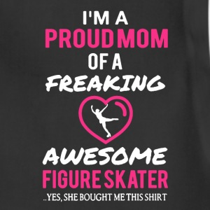 Figure Skater Mom Shirt - Adjustable Apron
