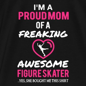 Figure Skater Mom Shirt - Men's Premium T-Shirt