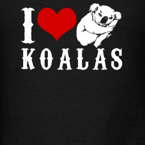 I Love Koalas Shirt - Men's T-Shirt