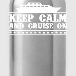 Keep Calm And Cruise On - Water Bottle