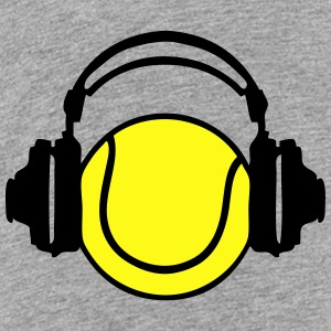 tennis dj headphones Kids' Shirts - Toddler Premium T-Shirt
