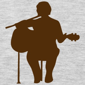 guitarist figure 2 T-Shirts - Men's Premium Long Sleeve T-Shirt