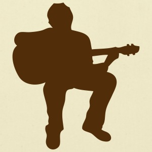 guitarist silhouette 1 T-Shirts - Eco-Friendly Cotton Tote