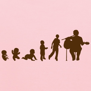 guitar guitarist human evolution T-Shirts - Kids' Hoodie