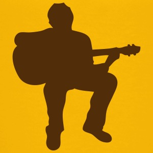 guitarist silhouette 1 Kids' Shirts - Toddler Premium T-Shirt