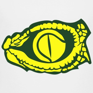 tennis ball eye reptile snake logo Kids' Shirts - Toddler Premium T-Shirt