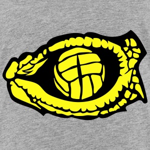 water polo volleyball eye reptile snake Kids' Shirts - Toddler Premium T-Shirt