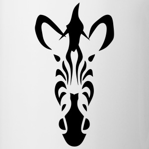 tribal zebra 502 T-Shirts - Coffee/Tea Mug