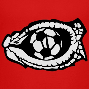 soccer eye reptile ball snake logo Kids' Shirts - Toddler Premium T-Shirt