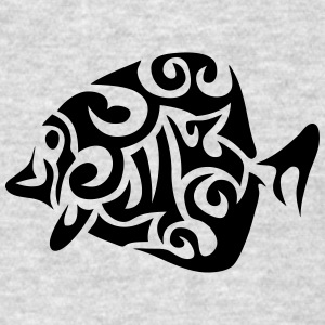 exotic fish tribal 502 Long Sleeve Shirts - Men's T-Shirt
