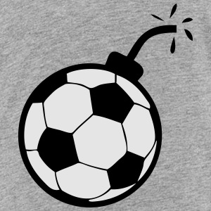 bomb soccer ball 1 Kids' Shirts - Toddler Premium T-Shirt