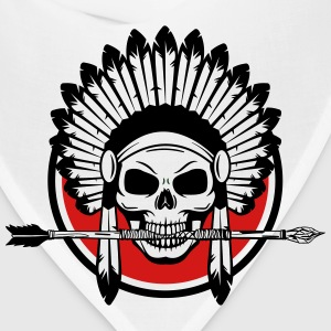 Indian Skull with Arrow - Bandana