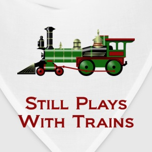 Still Plays With Trains - Bandana