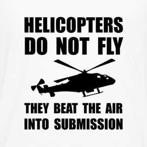Helicopter Submission 2 - Men's Premium Long Sleeve T-Shirt