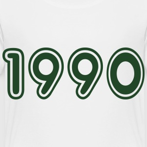 1990, Numbers, Year, Year Of Birth Kids' Shirts - Toddler Premium T-Shirt