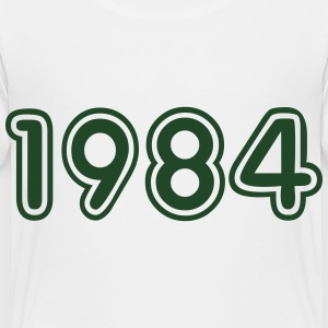 1984, Numbers, Year, Year Of Birth Kids' Shirts - Toddler Premium T-Shirt