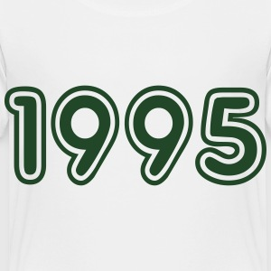 1995, Numbers, Year, Year Of Birth Kids' Shirts - Toddler Premium T-Shirt