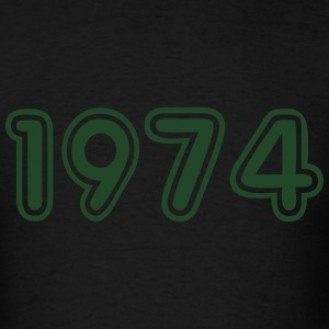 1974, Numbers, Year, Year Of Birth Long Sleeve Shirts - Men's T-Shirt