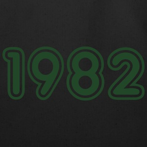 1982, Numbers, Year, Year Of Birth Hoodies - Eco-Friendly Cotton Tote