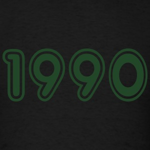 1990, Numbers, Year, Year Of Birth Long Sleeve Shirts - Men's T-Shirt