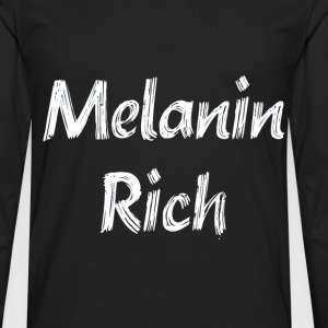 Melanin Rich - Men's Premium Long Sleeve T-Shirt