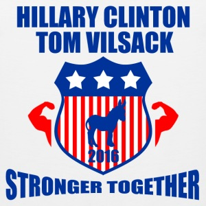 CLINTON VILSACK STRONGER TOGETHER - Men's Premium Tank