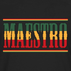 reggae maestro - Men's Premium Long Sleeve T-Shirt