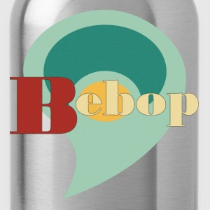 vintage bebop - Water Bottle
