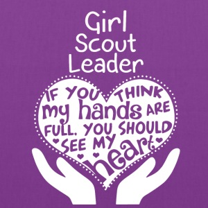 Girl Scout Leader - You should see my heart - Tote Bag