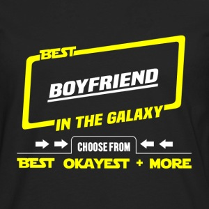 Best boyfriend in the galaxy - Okayest and more - Men's Premium Long Sleeve T-Shirt