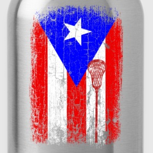 Puerto rican - Puerto rican flag awesome t-shirt - Water Bottle