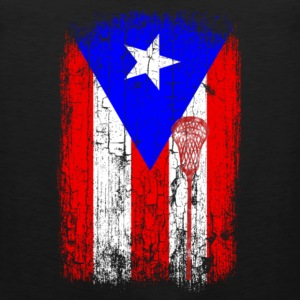 Puerto rican - Puerto rican flag awesome t-shirt - Men's Premium Tank