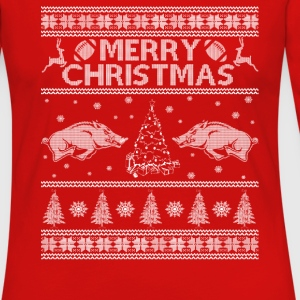 arkansas razorback - Awesome Christmas football t - Women's Premium Long Sleeve T-Shirt