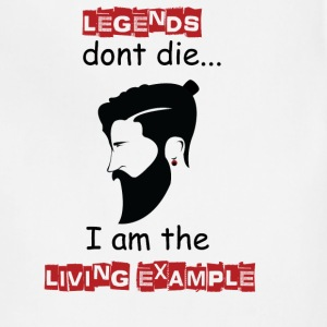 Beard - Legends don't die I'm the example - Adjustable Apron