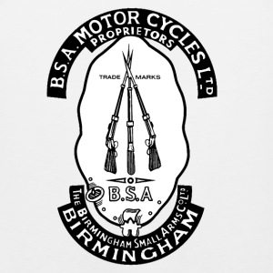 BSA motocycles - Awesome t-shirt for birmingham - Men's Premium Tank