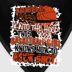 This basketball girl knows hooking shot - Bandana