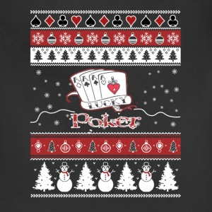 Poker - Awesome christmas sweater for card lovers - Adjustable Apron
