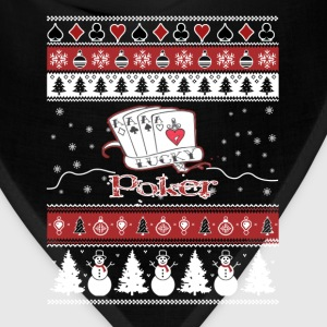 Poker - Awesome christmas sweater for card lovers - Bandana