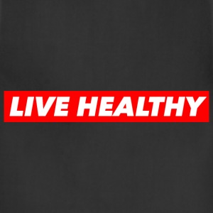 LIVE HEALTHY Hoodies - Adjustable Apron