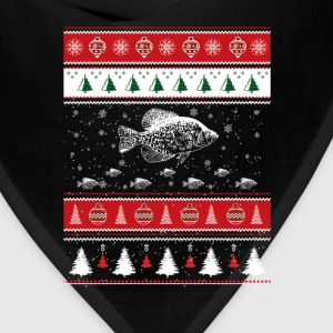 Awesome christmas sweater for crappie love - Bandana
