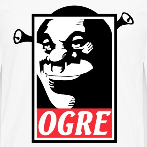 Ogre shrek cool t-shirt for shrek lovers - Men's Premium Long Sleeve T-Shirt