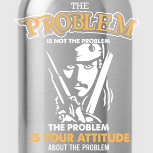 Pirate of caribbean - The problem is not the probl - Water Bottle