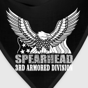 Spearhead The 3rd armored division t-shirt - Bandana