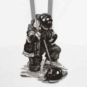 Sad Firefighter t-shirt for supporter - Contrast Hoodie
