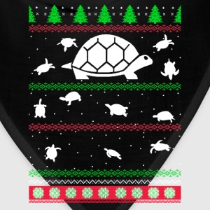 Awesome christmas sweater for turtle lovers - Bandana